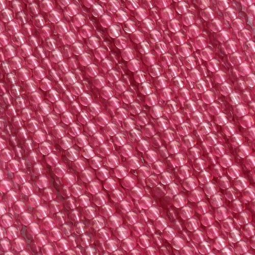 RB3-00030/45031 Crystal Mauve Round Beads 3 mm - 150 x