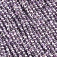 RB3-00030/45216 Crystal Metallic Violet Round Beads 3 mm - 150 x
