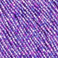 RB2-00030/48002 Crystal Alaska Blue/Purple Round Beads 2 mm - 150 x