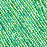 RB2-00030/48010 Crystal Jungle Emerald/Chrysolite Round Beads 2 mm - 150 x