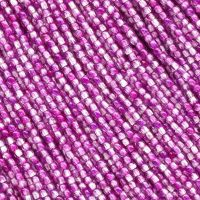 RB2-00030/48014 Crystal Fiesta Fuchsia/Tanzanite Round Beads 2 mm - 150 x