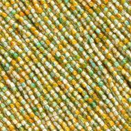RB2-00030/48024 Crystal Autumn Tangerine/Teal Round Beads 2 mm - 150 x