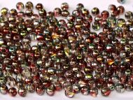 RB6-00030/95200 Magic Raspberry Round Beads 6 mm - 50 x