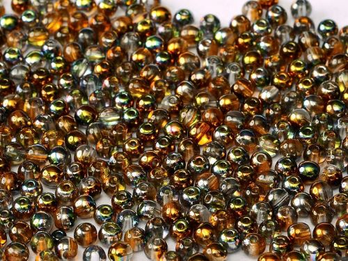 RB3-00030/95300 Magic Copper Topaz Round Beads 3 mm - 100 x