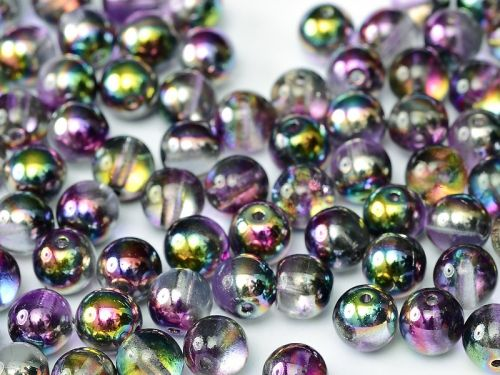 RB3-00030/95500 Magic Lilac Round Beads 3 mm - 100 x