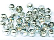 RB4-00030/98530 Crystal Rainbow Silver Round Beads 4 mm
