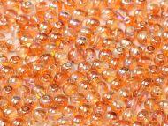 RB3-00030/98535 Crystal Rainbow Orange Round Beads 3 mm - 150 x