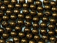 RB3-23980/14415 Antique Bronze Round Beads 3 mm - 100 x