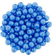 RB3-29366 Powdery - Light Blue Round Beads 3 mm - 100 x