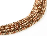 RB2-00030/27137 Crystal Sunset Round Beads 2 mm