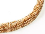 RB2-00030/98532 Crystal Rainbow Brown Round Beads 2 mm