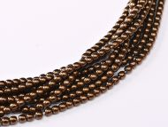 RB2-23980/14415 Antique Bronze Round Beads 2 mm