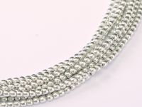 RB2-27000 Labrador Full (Silver) Round Beads 2 mm - 150 x * BUY 1 - GET 1 FREE *