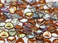 RP-00030/98532 Crystal Rainbow Brown Rose Petals