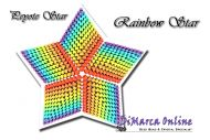 Tutorial Rainbow 3D Peyote Star + Basic Tutorial Little 3D Peyote Star (download link per e-mail)