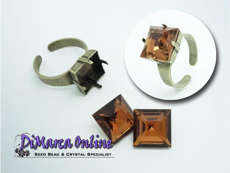 Settings Rings 12 mm Square