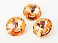 R18 Apricot Rivoli 18 mm Preciosa