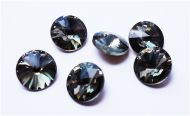 R08 Black Diamond Rivoli 8 mm SS39 Preciosa
