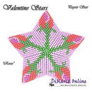 Tutorial Valentine Roses 3D Peyote Star + Basic Tutorial Little 3D Peyote Star (download link per e-mail)