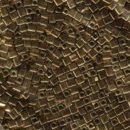 SB3-0457 Metallic Dark Bronze (like DB0022) Cube 3x3 Miyuki * BUY 1 - GET 1 FREE *