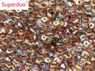 SD-00030/98533 Crystal Rainbow Copper SuperDuo Beads