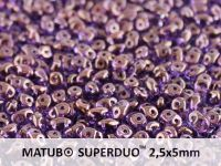 SD-20500/15726 Tanzanite Lila Lumi SuperDuo Beads
