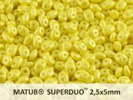 MD-24002 Pearl Shine Lemon MiniDuo Beads  * Buy 1 - Get 1 Free *