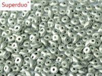 SD-27070 Labrador Full (Silver) Matte SuperDuo Beads