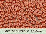 SD-29410 Metallic Matt Copper SuperDuo Beads * BUY 1 - GET 1 FREE *