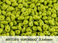 MD-53410 Opaque Olive MiniDuo Beads  * Buy 1 - Get 1 Free *