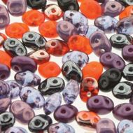 SD-MIX0155 Haunting Mix SuperDuo Beads * BUY 1 - GET 1 FREE *