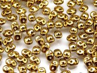 SD-26440 Amber Full (Gold) SuperDuo Beads