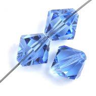 PB10 Sapphire 10 mm Bicone Preciosa