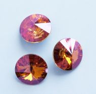1122 Crystal Summer Blush Rivoli 14 mm Swarovski