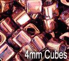 Toho Cubes 4 mm