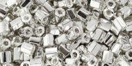 TH-08-0558 Galvanized Aluminum Hex 8/0 Toho