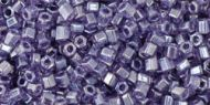 TH-11-0136 Trans-Lustered Sugar Plum Hex 11/0 Toho