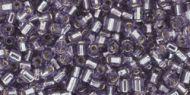 TH-11-0039 Silver-Lined Tanzanite Hex 11/0 Toho