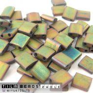 TL-2035 Matte Metallic Khaki Iris (like DB0380) Tila Miyuki