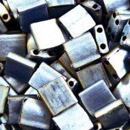 TL-2002 Matte Metallic Silver Gray (like DB0307) Tila Miyuki