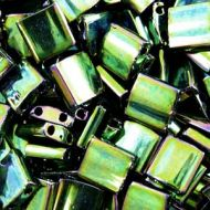TL-0468 Metallic Malachite Green Iris Tila Miyuki