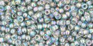 TR-11-0176 Trans-Rainbow Black Diamond 11/0 Toho