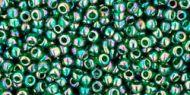 TR-11-0179 Trans-Rainbow Green Emerald 11/0 Toho
