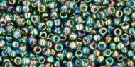 TR-11-0180 Trans-Rainbow Olivine 11/0 Toho