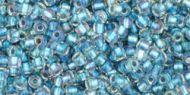 TR-11-0263 Inside-Color Rainbow Crystal/Light Capri Lined 11/0 Toho