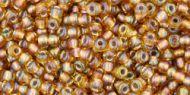 TR-11-0278 Gold-Lined Rainbow Topaz 11/0 Toho