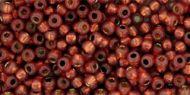 TR-06-PF2113 Permanent Finish - Silver-Lined Milky Pomegranate 6/0 Toho