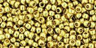 TR-11-PF0559 Permanent Finish - Galvanized Yellow Gold 11/0 Toho