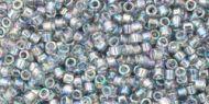 TT-01-0176 Trans-Rainbow Black Diamond Treasure 11/0 Toho