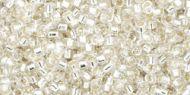 TT-01-0021 Silver-Lined Crystal Treasure 11/0 Toho